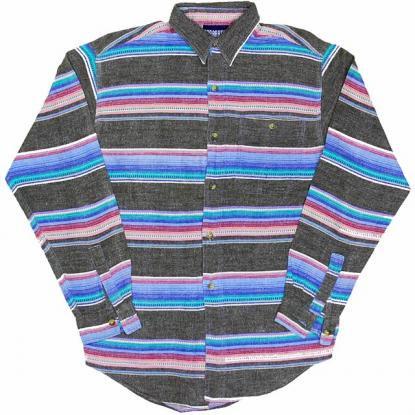 古着 USA  オールド ボーイズ ネルシャツ Apparatus