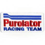 U.S.A. 70年代 デッドストック 刺繍 ワッペン - Purolator RACING TEAM -(大)