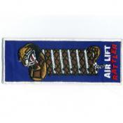 U.S.A. 70年代 デッドストック 刺繍 ワッペン - AIR LIFT RATTLER -(中)