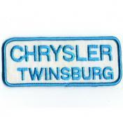 U.S.A. 70年代 デッドストック 刺繍 ワッペン クライスラー - CHRYSLER Twinsburg -