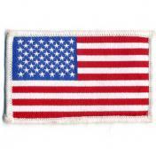 U.S.A. 70年代 デッドストック 刺繍 ワッペン - アメリカ合衆国 星条旗 国旗 -
