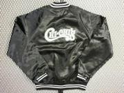 USA. 70's ビンテージ HARTWELL サテンジャケット CHI-CHI'S ロゴプリント 【 色:黒  】 size:M