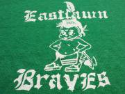 U.S.A. 80's Eastdawn Braves スウェットシャツ グリーン L(16)