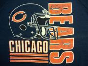 U.S.A. 80's〜90's シカゴ・ベアーズ アメリカンフットボール スウェットシャツ ネイビー L(16)