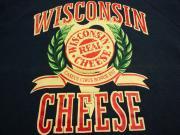 U.S.A. 80's〜90's オールド スウェットシャツ ウィスコンシンチーズ 【色:ネイビー】size:M