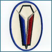 U.S.A. 1970's〜 ビンテージ デッドストック 刺繍 ワッペン HOMELITE サイズ:( W )100ミリ x ( H ) 27ミリ