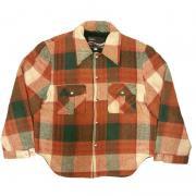 〜 1970年代 ヴィンテージ U.S.A. モンゴメリーワード ウールジャケット (カラー: チェック) サイズ: L