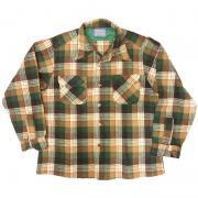 1970 年代 ヴィンテージ U.S.A. ペンドルトン ボードシャツ ウール (チェック) サイズ L ( 実寸は S 位 )