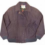 1980年代 メルトンジャケット (カラー: ネイビィーブルー) サイズ: L