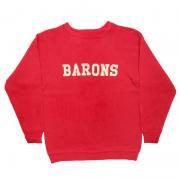 U.S.A. オールド プリント スウェットシャツ グレード:A 〜 B カラー:赤 キッズ サイズ