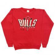 1980 〜 90年代 U.S.A. オールド プリント スウェットシャツ グレード:A 〜 B カラー:赤 キッズサイズ