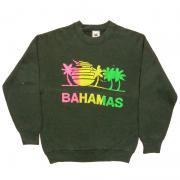 1980 〜 90年代 U.S.A. オールド プリント スウェットシャツ グレード: A 〜 B カラー: 黒 サイズ: M