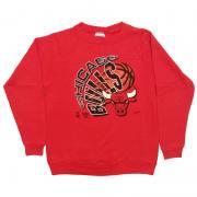 1980 〜 90年代 U.S.A. オールド プリント スウェットシャツ グレード:A~B カラー:黒 サイズ:キッズ XL