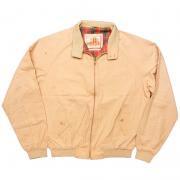 ヴィンテージ 1970年代製 バラクータ ヴァンヒューセン ハリントン G9 ジャケット 色:タン 寸法:S位