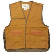 70'sー80's U.S.A. DUCK BAY Brown Duck Hunting Vest ヴィンテージ ブラウン ダック ハンティング ベスト グレード:A カラー:金茶 サイズ:M