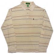 1980's U.S.A. ヴィンテージ マンシングウェア グランドスラム ゴルフ ポロシャツ 長袖 /ボーダー /L位
