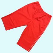 〜 1980's U.S.A. Shorts ショーツ ショートパンツ ハーフパンツ 赤 パイピング/白 L