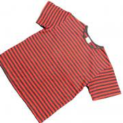 1980's 〜 1990's U.S.A. ボーダー Tシャツ 半袖 キッズサイズ L ( 10 ~ 12 )