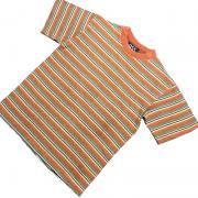 1980's 〜 1990's U.S.A. ボーダー Tシャツ 半袖 コットン キッズサイズ M