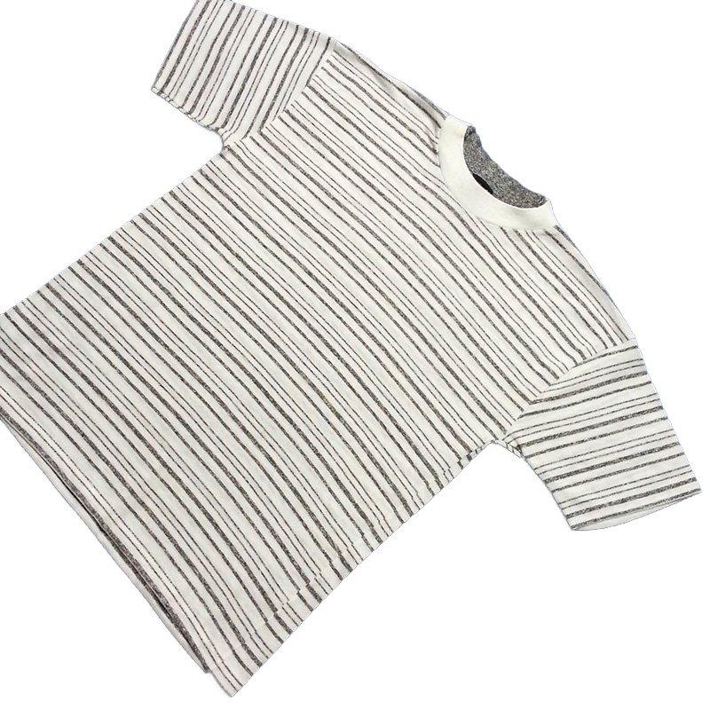 1980's ~ 1990's U.S.A. ボーダー Tシャツ 半袖 キッズサイズ XL ( 18 ) ¥499