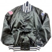 1970 年代 U.S.A. THE GREAT LAKES JACKET ヴィンテージ サテンジャケット Patch:FORD/American flag カラー:濃紺色 系 サイズ:L