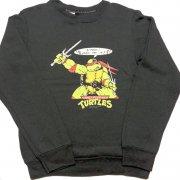 1980年代 U.S.A. Spencers PRINT SWEAT SHIRT KIDS プリント スウェットシャツ トレーナー キッズ カラー:ブラック サイズ:-