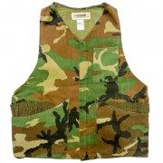 1970〜80年代製 U.S.A. Ranger Camouflage Hunting Vest ハンティング ベスト カモフラージュ 迷彩 カラー:緑・茶・黒 サイズ:M