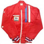 1970 年代 USA. THE GREAT LAKES JACKET RACING JACKET ヴィンテージ ナイロン レーシングジャケット カラー:赤 表記サイズ:M 未使用品