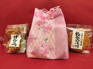 「日本一堅い」巾着袋入りセット