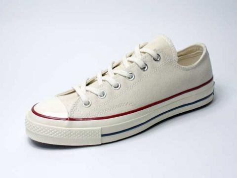 【Converse USA First String】'70 Chuck Taylor OX・三ツ星復刻チャックテイラー/parchment