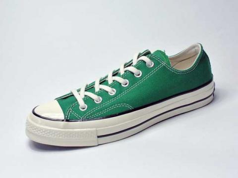 【Converse USA】'70 Chuck Taylor OX Vintage Canvas・三ツ星復刻チャックテイラーCT70/amazon green