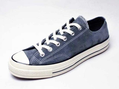 【Converse USA】'70 Chuck Taylor OX Vintage Suede・三ツ星復刻チャックテイラー・スエードCT70/charcoal