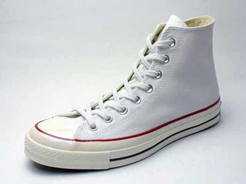 【Converse USA First String】'70 Chuck Taylor HI・三ツ星復刻チャックテイラー/optical white