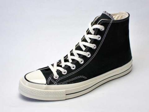【Converse USA 】'70 Chuck Taylor HI Vintage Canvas・三ツ星復刻チャックテイラーCT70/black