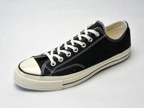 【Converse USA First String】'70 Chuck Taylor OX・三ツ星復刻チャックテイラー/black