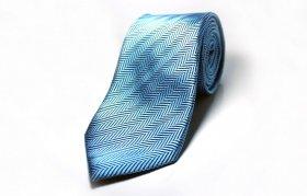 Herring bone Tie(サックス)