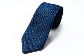 【Line Dot】 Line Dot Tie (Tango Blue)