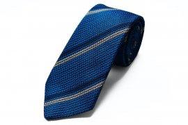 【2Line Regimental】 2Line Regimental Tie (Tango Blue)