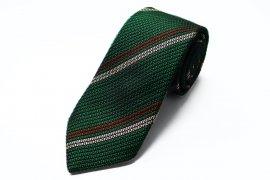 【2Line Regimental】 2Line Regimental Tie (Green)