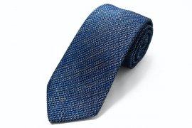【Kasuri Mix】 Kasuri Mix Tie (Blue×White)