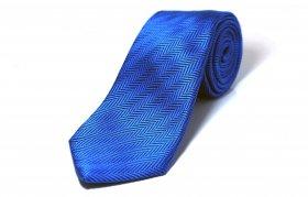 Herring bone Tie(タンゴブルー)
