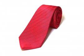 Herring bone Tie(レッド)