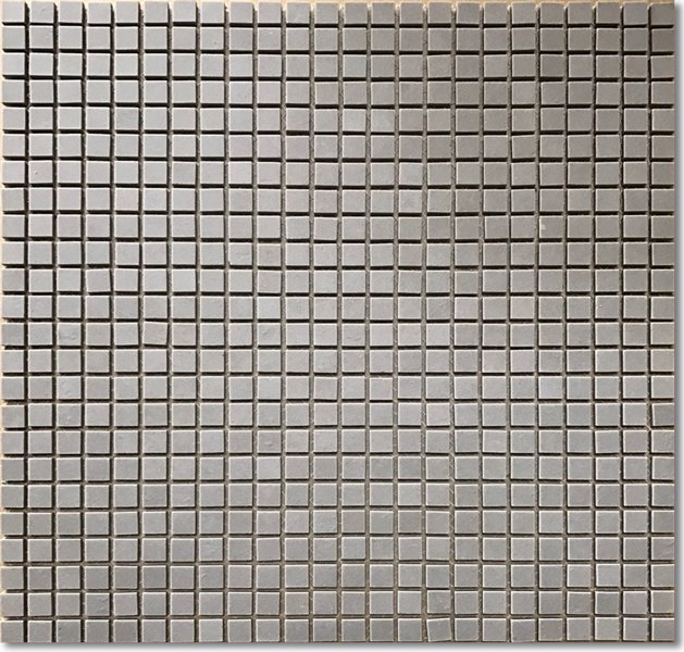 レトロモザイクタイル 10角 グレーマット【アウトレット】