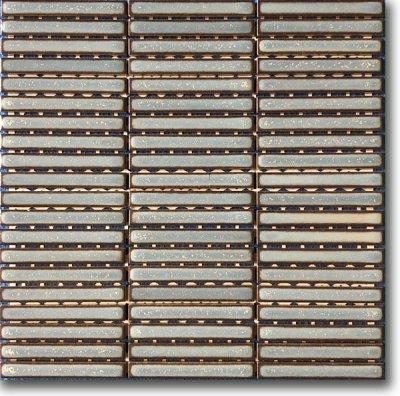 インテリアモザイク 窯変ボーダー IM-1015P1/YB21H