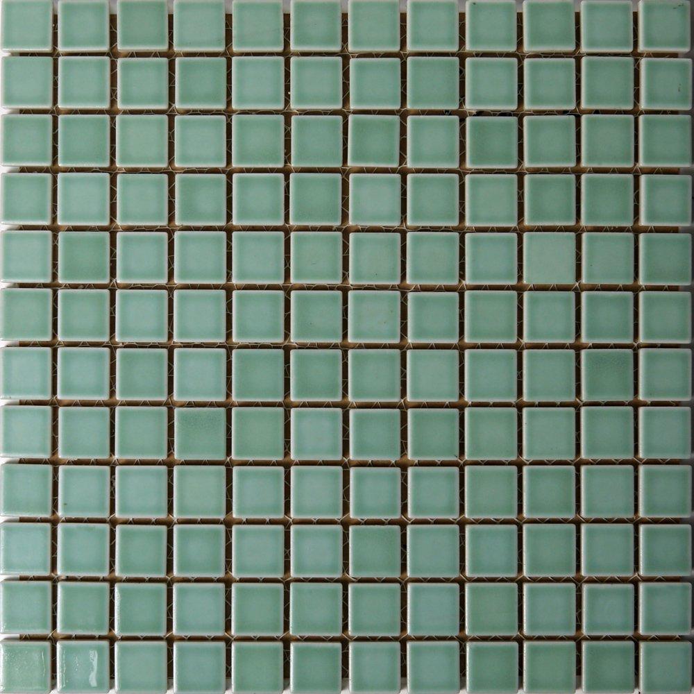 ピュアカラーシリーズ 22角タイル サラSA−71(青磁色)