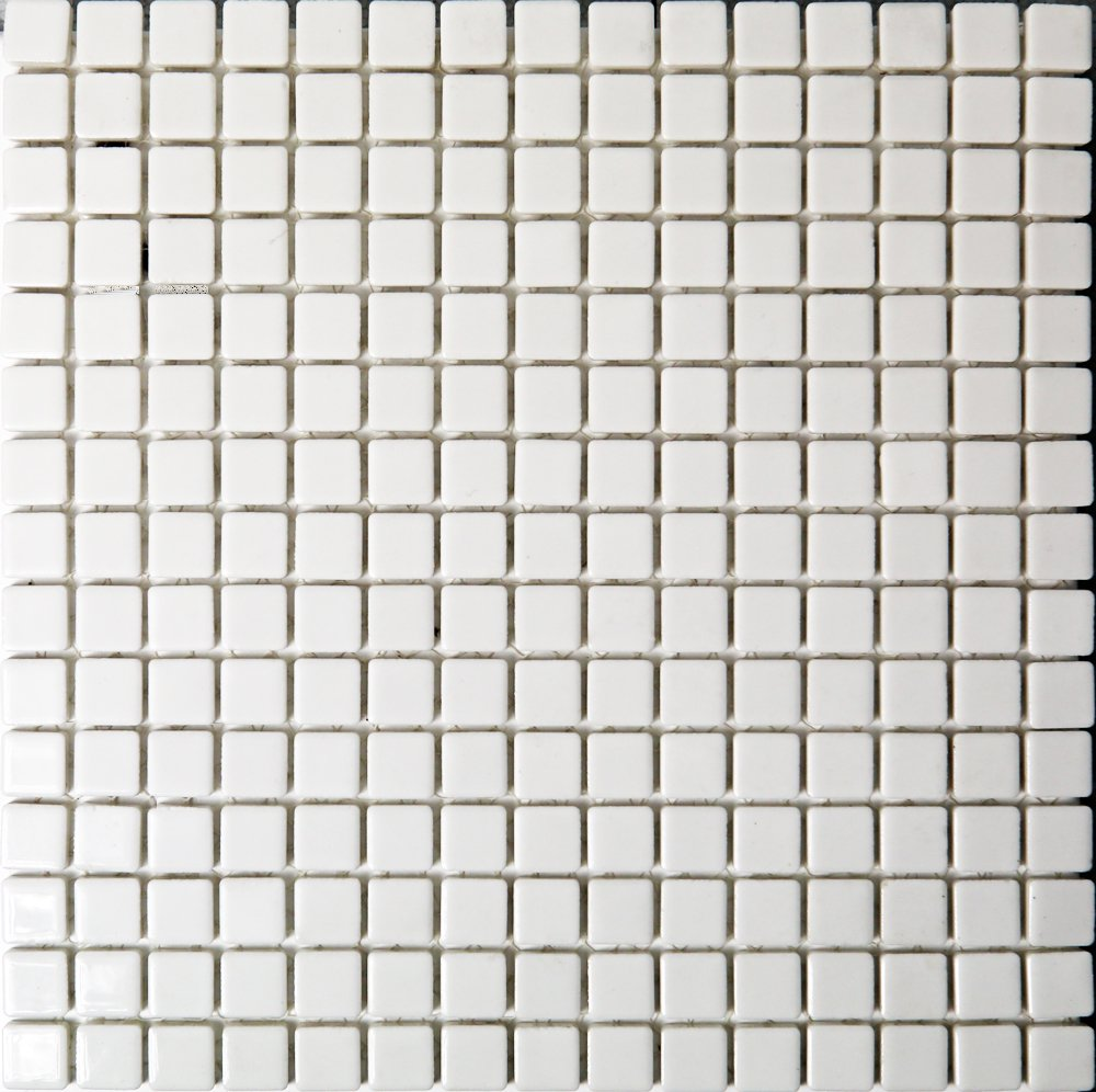 オリンピコ18角タイル Wホワイト ブライト