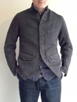 french worquera jacket 1770 dark grey/DjangoAtour ANOTHERLINE
