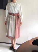 フレンチファーマーズスカート frenchfarmrs skirt フリーサイズ/La Garbo