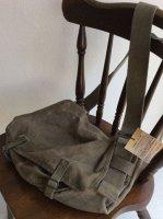 1960's French Military Shoulder Bag(1960年代フランス軍キャンバスショルダーバッグ)B5サイズ対応