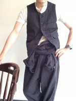��������٥��ȥ���ȡ��ڥåѡ����ȥ饤�� workers vest salt and pepper stripe��DjangoAtour